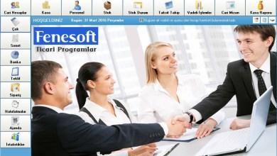 muhasebe programlari - Fenesoft Ön Muhasebe Programı