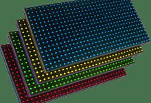 p10 panel led tabela min388x305 - P10 Led Panel Nedir?