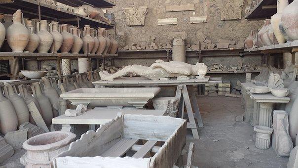 Taş Kesilen İnsanlar/Pompei Halkı