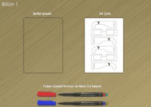 3d gozluk yapimi 3D Gözlük Yapımı! El Yapımı 3 Boyutlu Gözlük