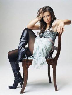 Evangeline Lilly sandalye