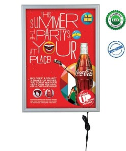 Smart Poster Led Light Box Dış Mekan