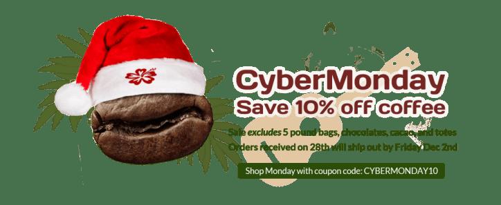 Makua Coffee Company Cyber Monday Sale