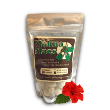 Makua Macs Roasted Unsalted Macadamia Nuts Hawaii 7 oz Bag
