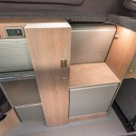 Vw Transporter Transtourer Conversion With Toilet Privacy Room