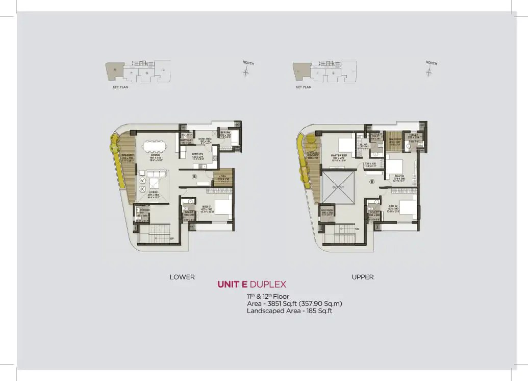 Unit E Duplex (11th & 12th)