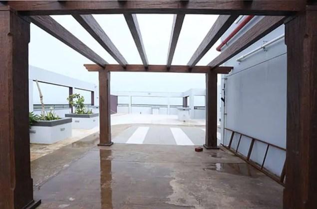 Well Designed Terrace - Silver Linden Calicut - Malabar Developers