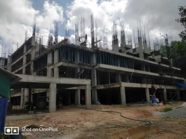 Construction Status August-2 2018