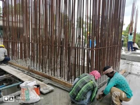 Construction Status August-7 2018