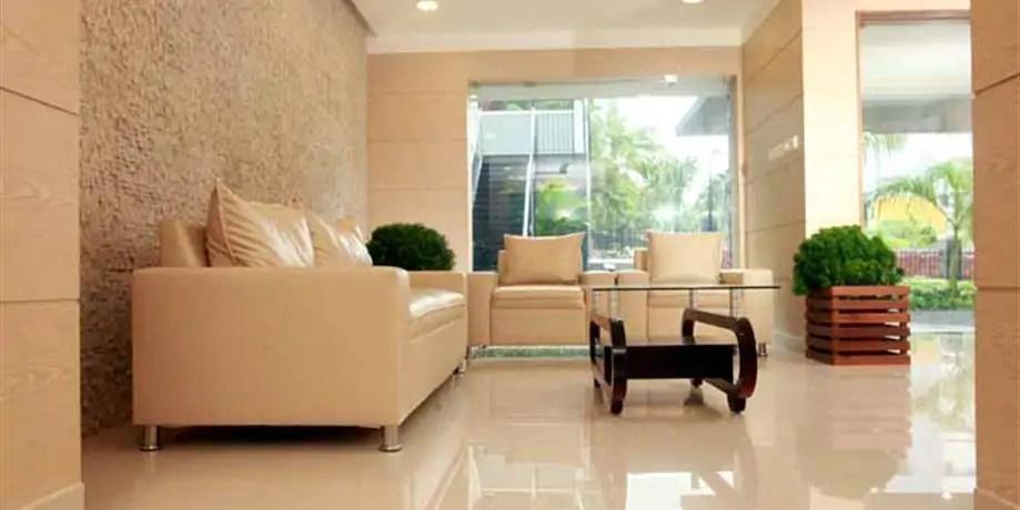 Living Room - Interior Designing - Palm Royale Calicut