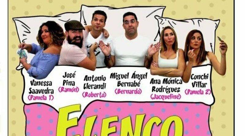 La agrupación teatral de Enrique Soler presenta en Málaga 'Cama para 6'