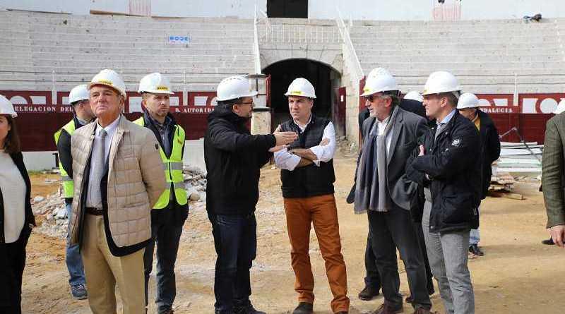 Las obras del centro cultural en la plaza de toros de La Malagueta concluirán en el primer semestre de 2019