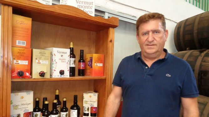 gerente de Ucopaxa, vinos de moscatel Axarquía