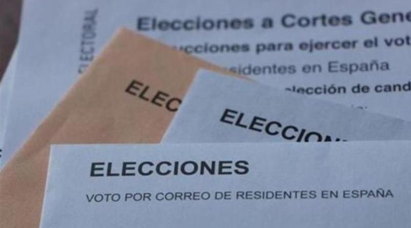 voto por correo, nacional
