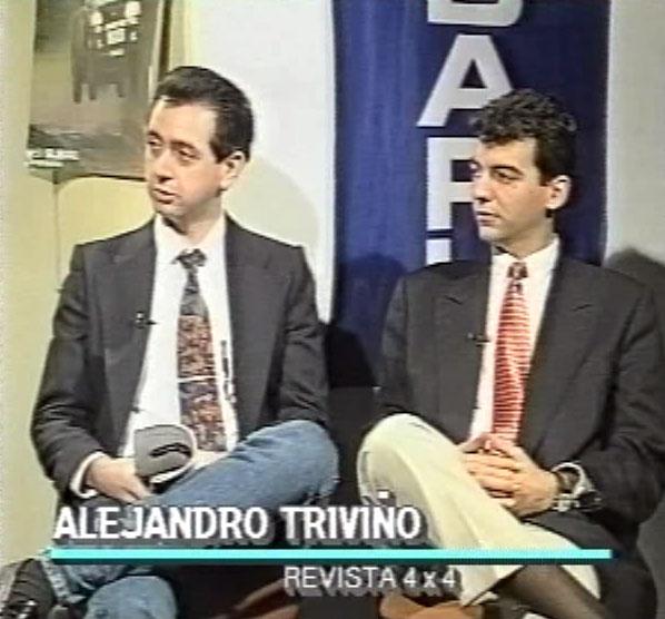 Mis primeros pasos en el mundo de la televisión fueron como colaborador en programas de televisión, como era el caso de 340 Fórmula.