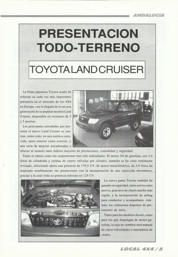 revista-local-4x4-presentación-toyota-land-cruiser-1996