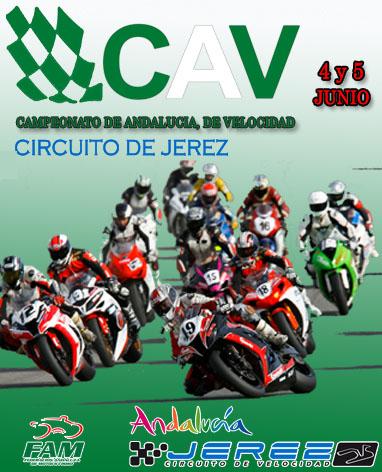 Cartel Campeonato Andaluz de Velocidad