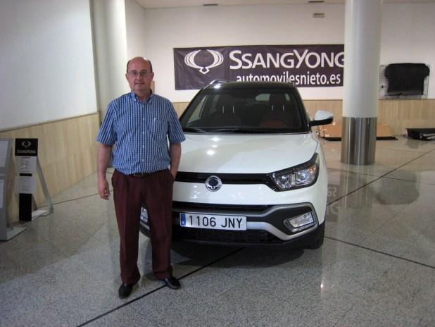 Manuel Cámara SsangYong Tívoli
