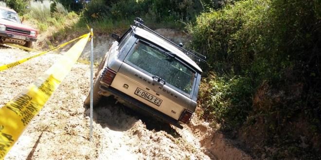 Range Rover barro Circuito Almejí