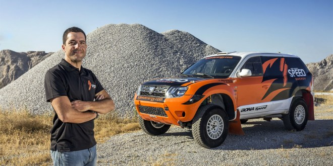 Enrique Bonafonte con Dacia Duster V6