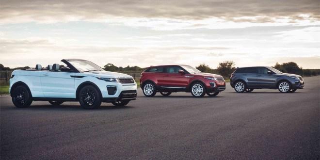 Gama Land Rover Evoque