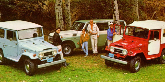 Toyota Land Cruiser Historia