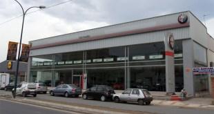 Fachada Carmauto Concesionario Oficial Alfa Romeo en Málaga