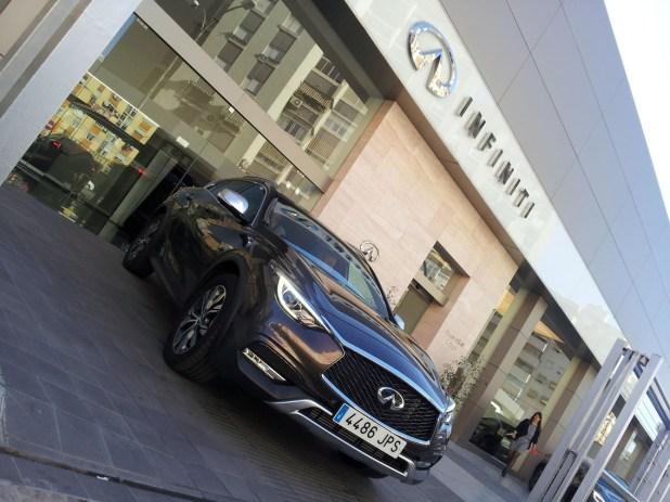 Centro Infiniti Málaga, que ahora acoge la presentación del nuevo QX30, abrió sus puertas en 2012.