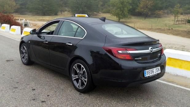 El Opel Insignia se caracteriza por sus generosas dimensiones y la amplitud de su maletero.