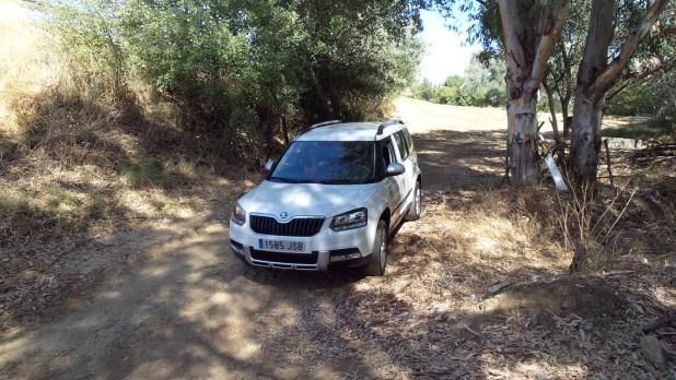 En condiciones normales, el Skoda Yeti con la mecánica diésel de 110 CV y tracción 4x2 se conforma con una media de 5,5 litros de consumo.