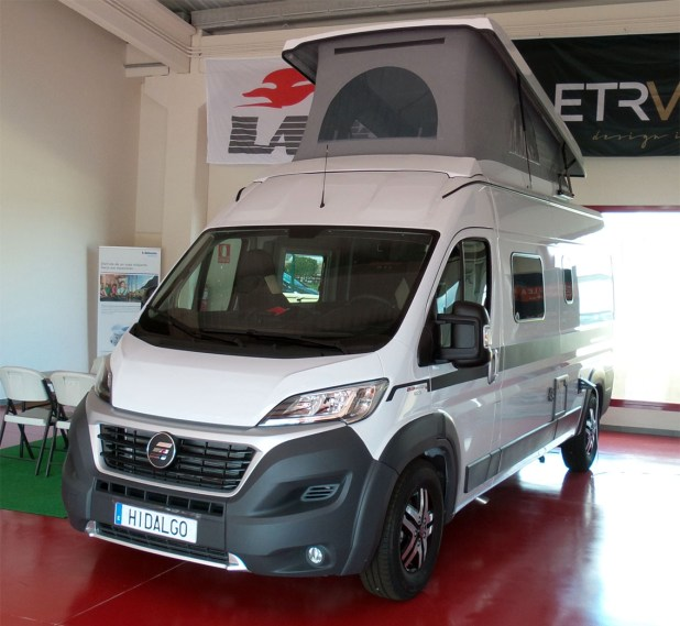 Hymer Grand Canyon Exterior