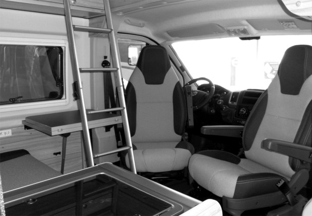 Hymer Grand Canyon Interior