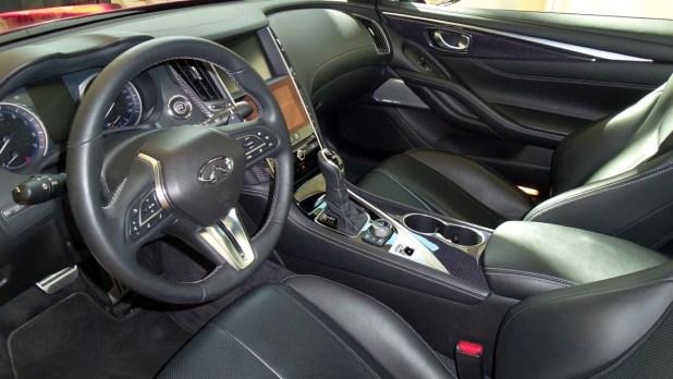 Interior Infiniti Q60
