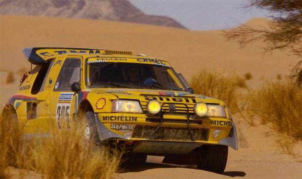 Peugeot 205 Turbo 16 de Vatanen / Giroux