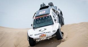 SsangYong continúa en el Dakar con TivoliDKR