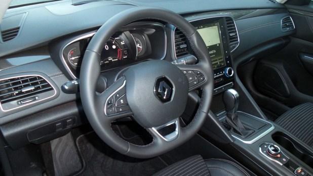 Interior del Renault Talismán.