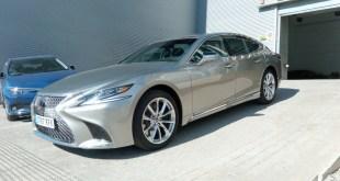 Las instalaciones de Lexus en Málaga reciben el Nuevo LS 500H