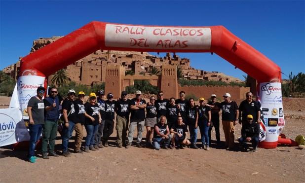 Organización Rally Clásicos del Atlas 2018.