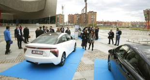 El Toyota Mirai demuestra la viabilidad de la pila de combustible en Málaga