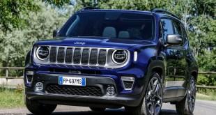 Jeep presenta en Turín el Renegade en su versión 2019