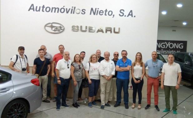 Subaru Test Drive en Automóviles Nieto.