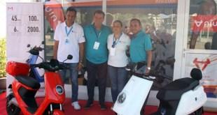 El scooter eléctrico NIU llega a Melilla con motivo de la Semana Náutica