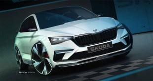 El prototipo híbrido enchufable Skoda Vision RS será presentado en París