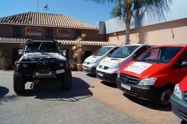 Instalaciones de Autos Alquíleme en Mijas Costa (Málaga).