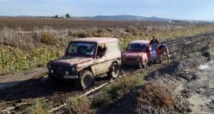 La sexta y última etapa lleva a los participantes del Guadalquivir Classic Rally hasta el Puerto de Santa María por pistas y caminos embarrados