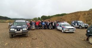 Los participantes en el Guadalquivir Classic Rally llegan a Calar Alto en la segunda etapa