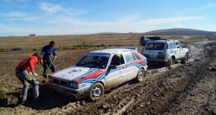 El barro marca el desarrollo de la quinta etapa del Guadalquivir Classic Rally