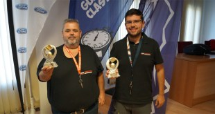 El equipo Team Salru Competición sube al podium en el Guadalquivir Classic Rally