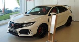 Honda Cotri exhibe en sus instalaciones el nuevo Civic Type-R