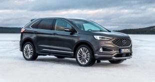 El nuevo SUV Ford Edge utiliza la inteligencia artificial para mejorar sus prestaciones